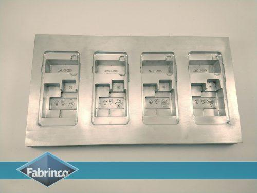 Matriz Termoformado Aluminio Cuna